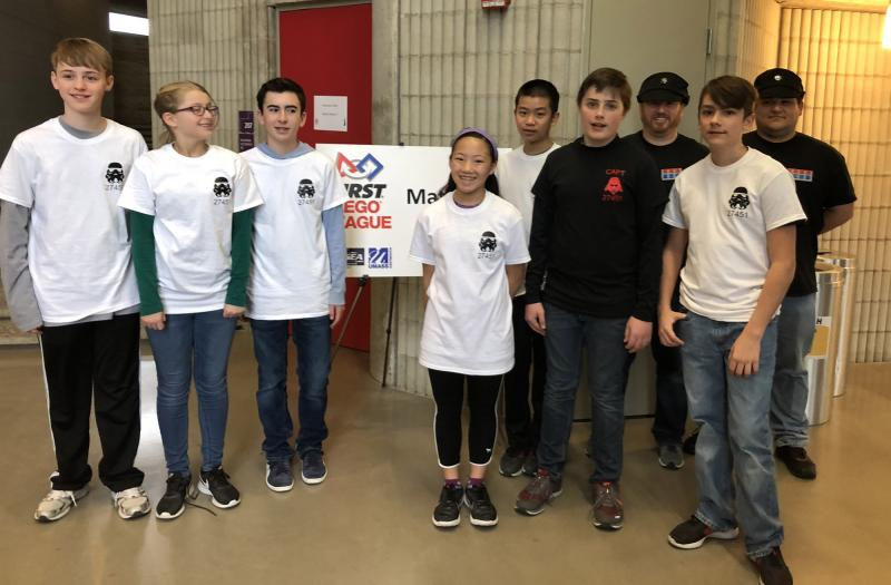 New competition gives middle school robotics programs a home