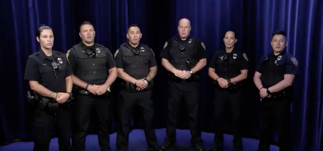 Dartmouth Police Department's tribute to fallen officers goes viral
