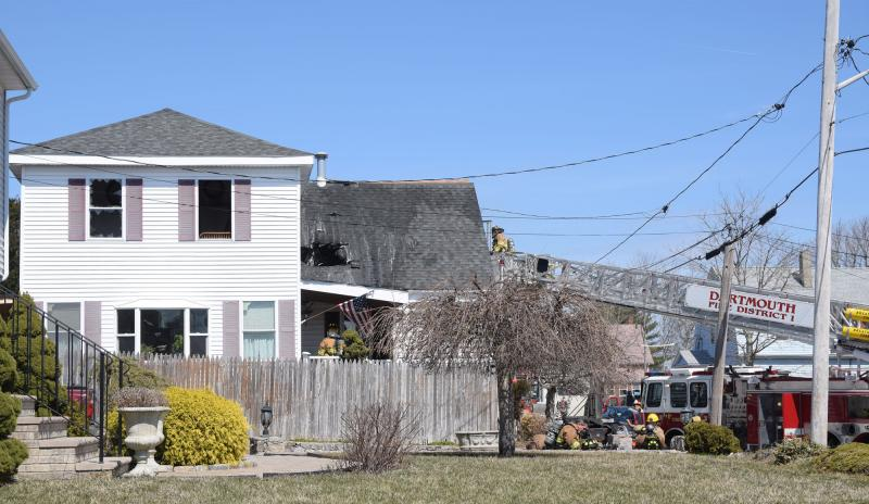 District No  1 crews knock down house fire in Bliss Corner