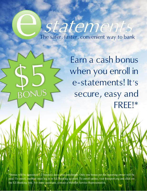 Green up your Finances with E-Statements | Dartmouth