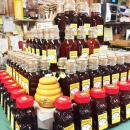 Local honey for sale at Alderbrook Farm