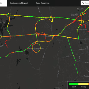 Dartmouth Week - Dartmouth, MA news - Road quality data from fixmyroad.us showing UMass Dartmouth and environs