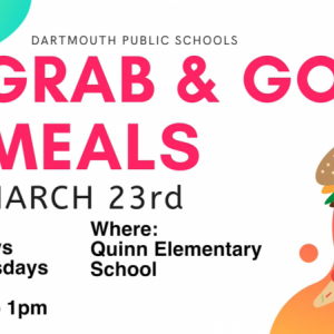 Dartmouth Week - Dartmouth, MA news - Free grab and go meals will be offered at Quinn School from March 23. Image courtesy: Dartmouth schools